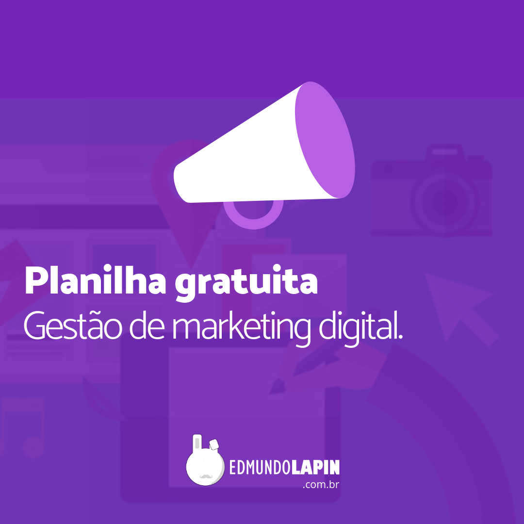 Planilha para Marketing Digital